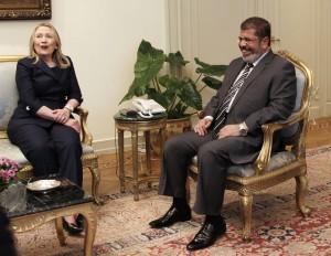 Hillary Clinton, Mohammed Morsi