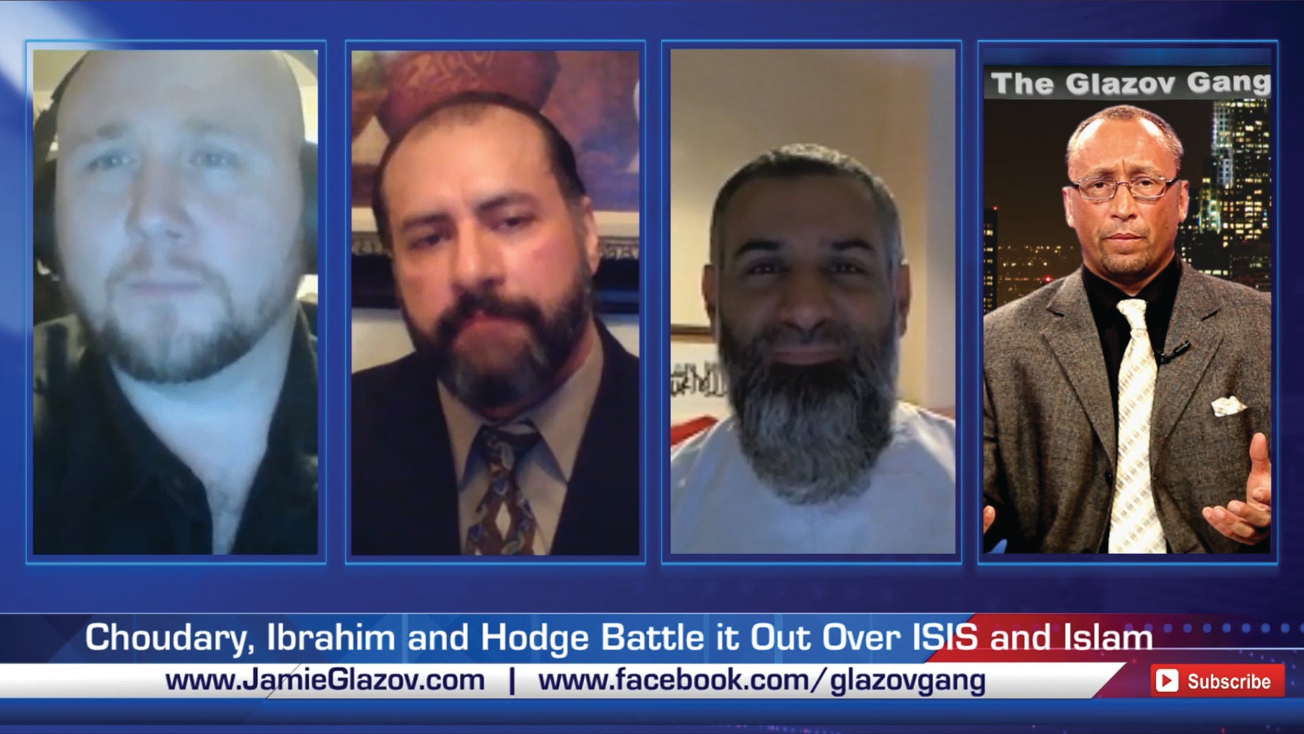 Choudary, Ibrahim and Hodge Battle it Out Over ISIS and Islam