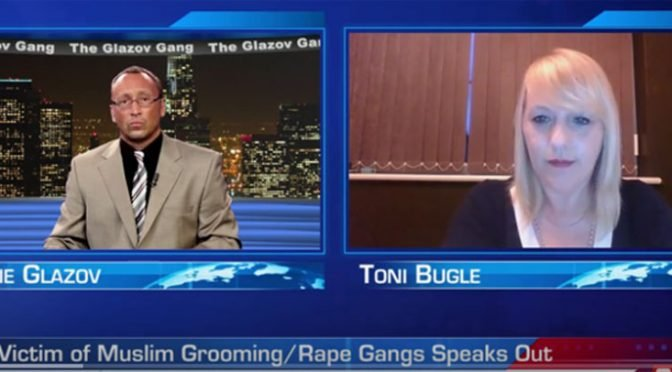 Victim of Muslim Grooming/Rape Gangs Speaks Out — on The Glazov Gang