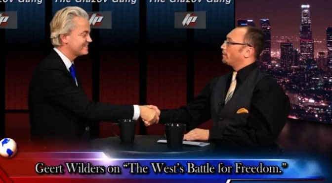 "Geert Wilders on ""The West's Battle For Freedom"" – on The Glazov Gang"