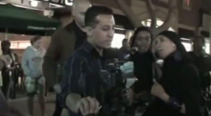 Muslim Woman Attacks Christian Preacher — on The Glazov Gang