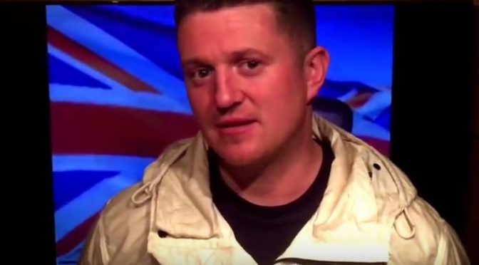 "Tommy Robinson's ""THANK YOU!"" Video"