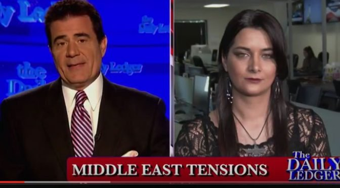 "Video: Anni Cyrus on ""The Daily Ledger"" Discussing Iran's Nuclear Threat"