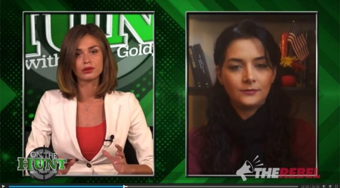 "Anni Cyrus on Faith Goldy's ""On The Hunt"" Discussing ""Sharia USA"""
