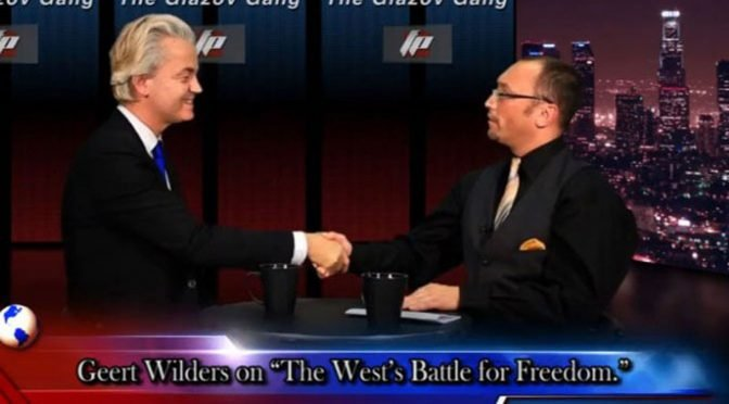 "Video: Geert Wilders on ""The West's Battle For Freedom"" – on The Glazov Gang"