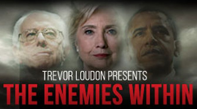 "Trevor Loudon on ""The Enemies Within"" – on The Glazov Gang"