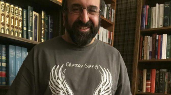 BREAKING NEWS: Robert Spencer Puts On Glazov Gang T-Shirt!