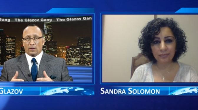 Ex-Muslim Sandra Solomon Unveils the Terror in London – on The Glazov Gang