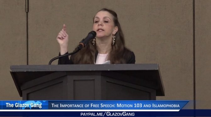 Deborah Weiss Moment: The Importance of Free Speech: Motion 103 and Islamophobia