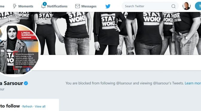 BREAKING: Linda Sarsour Blocks Jamie Glazov on Twitter!