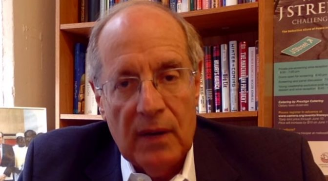 Charles Jacobs Moment: Leftist Rabbis Endanger Jewish Community