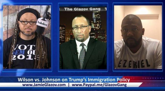 Standoff: Wilson vs. Johnson on Trump's Immigration Policy