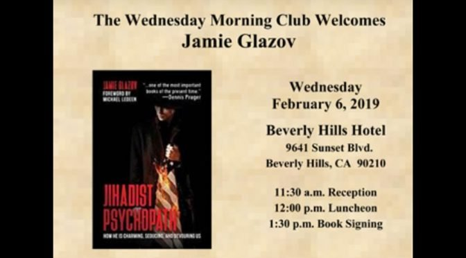 Jamie Glazov Speaking at Beverly Hills Hotel, Feb. 6