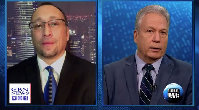 "Glazov on CBN's ""Global Lane"" Discussing ""Crimes of Jihadi Brides"""