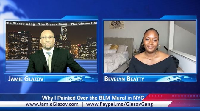 Bevelyn Beatty Video: Why I Painted Over the BLM Mural in NYC
