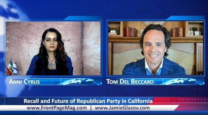Tom Del Beccaro Video: Recall and Future of Republican Party in California